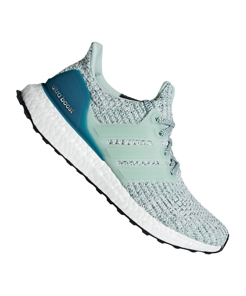 newest 5c79a 41416 adidas Ultra Boost Running Damen Grau Grün - Grau