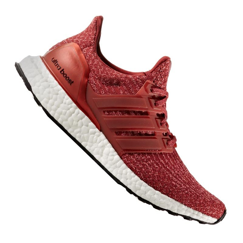 adidas ultra boost running damen rot weiss laufschuh. Black Bedroom Furniture Sets. Home Design Ideas