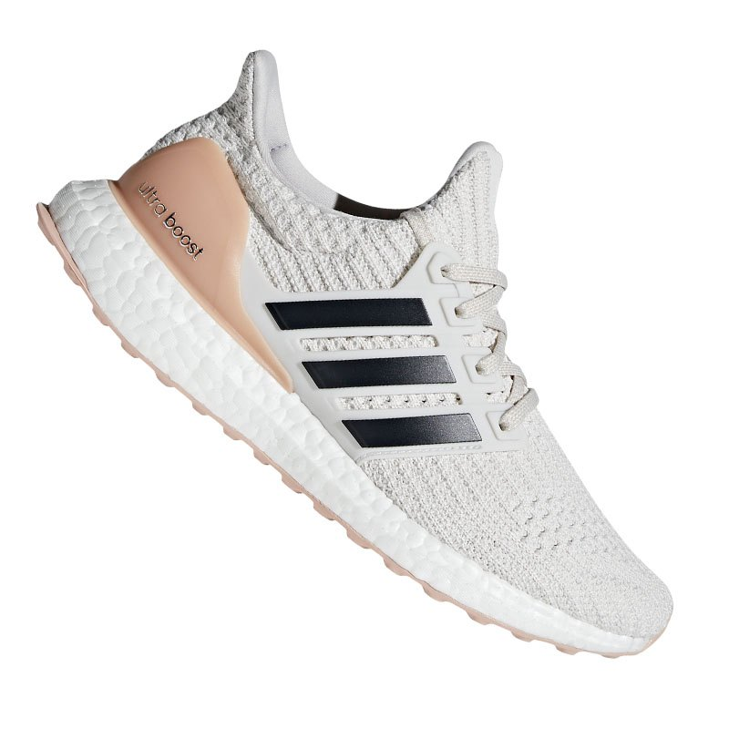 adidas Ultra Boost Running Damen Weiss Grau