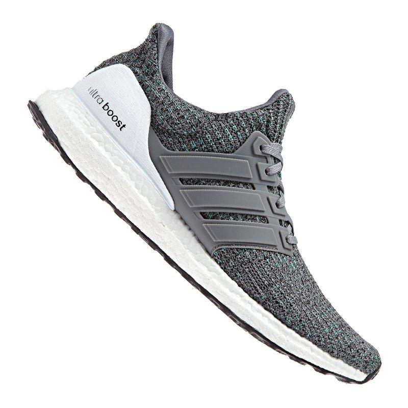 adidas Ultra Boost Running Grau Weiss