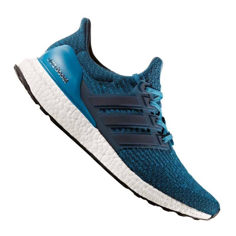 adidas ultra boost running hellblau weiss laufschuhe. Black Bedroom Furniture Sets. Home Design Ideas
