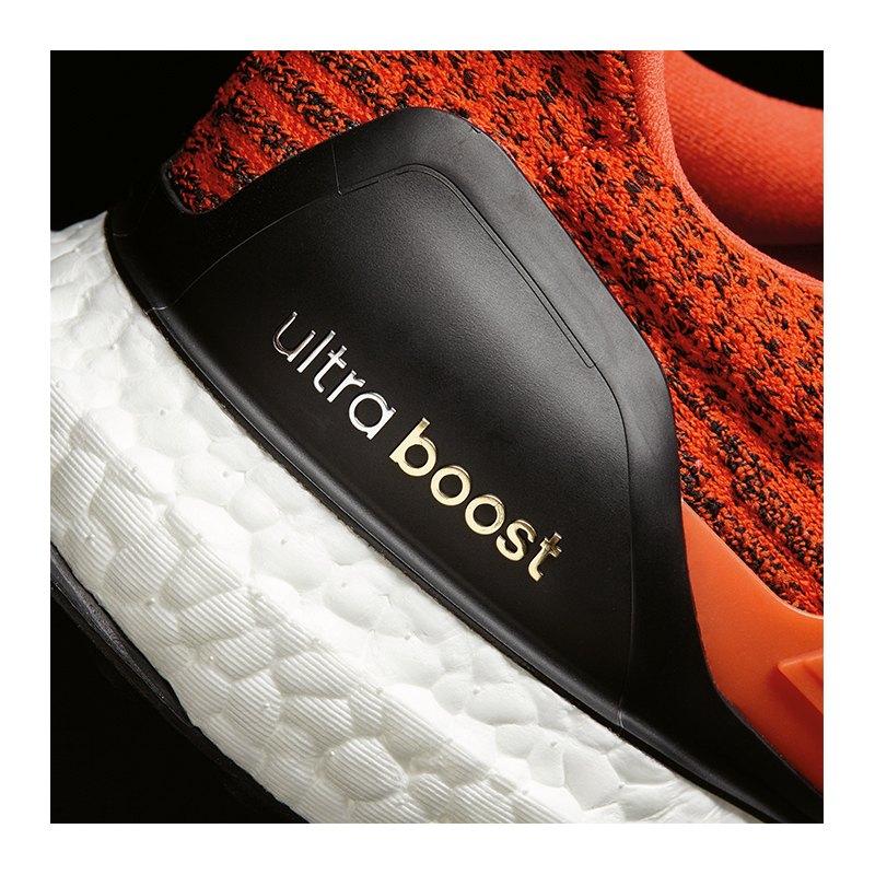 adidas ultra boost running rot weiss laufschuh joggen. Black Bedroom Furniture Sets. Home Design Ideas