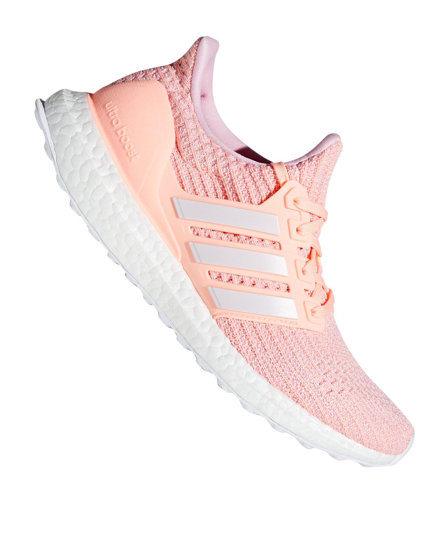 adidas Ultra Boost Sneaker Damen Rosa Weiss