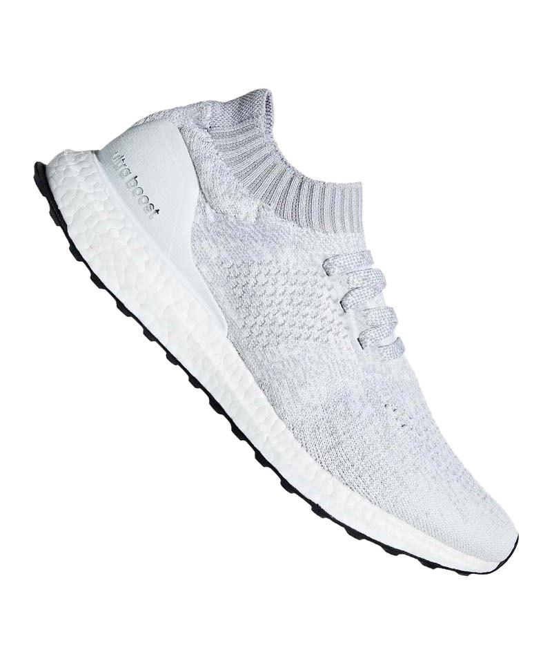 online store 194dd 09654 adidas Ultra Boost Uncaged Running Weiss Grau - weiss