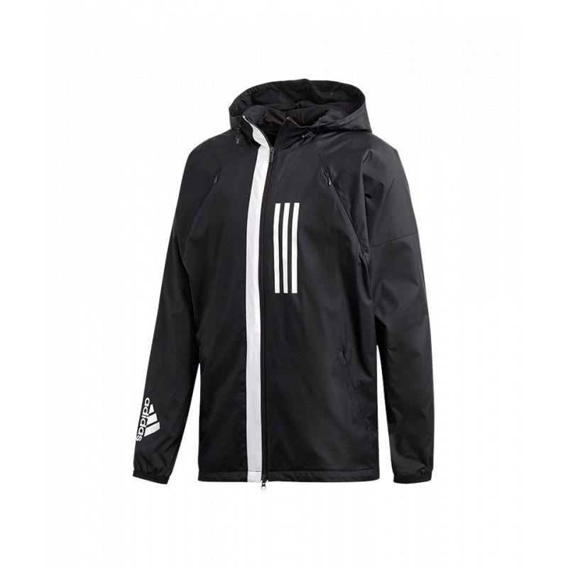 d1c0a7a34f4e6a adidas Wind Fleece Jacket Jacke Schwarz |Lifestyle | Freizeit ...