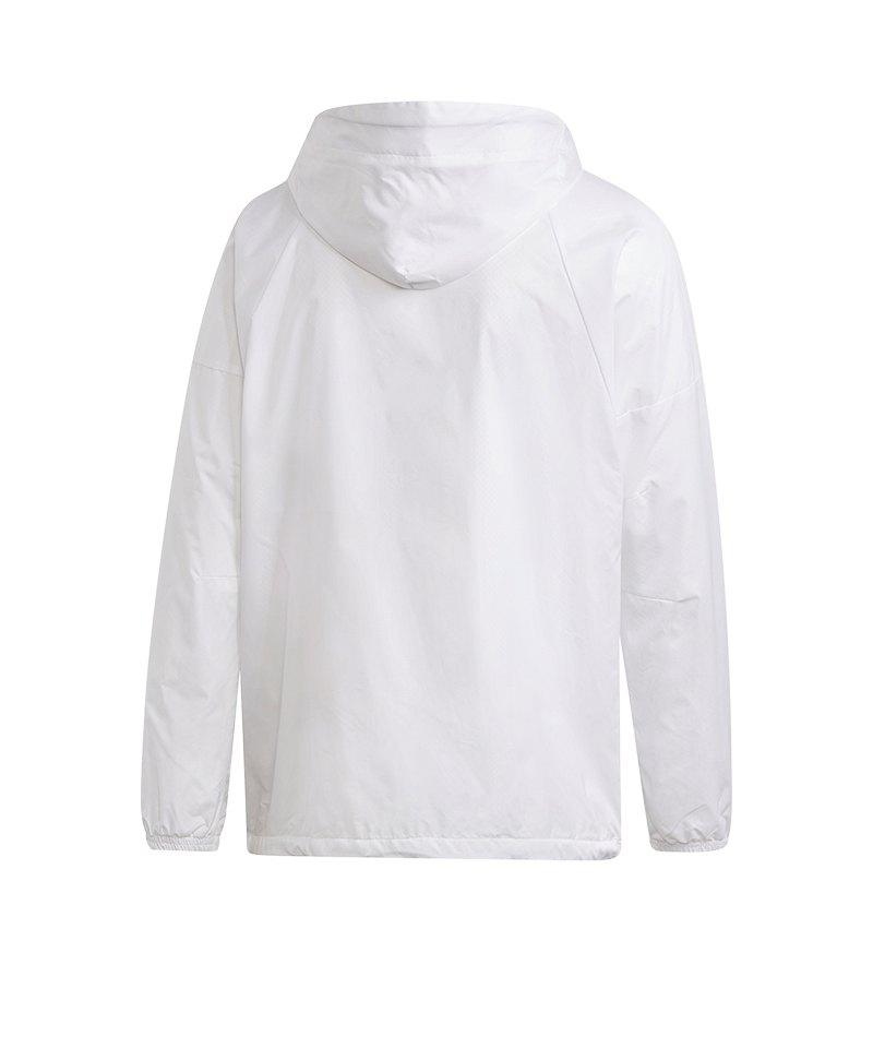 139a65d65cfa83 adidas Wind Fleece Jacket Jacke Weiss |Lifestyle | Freizeit ...