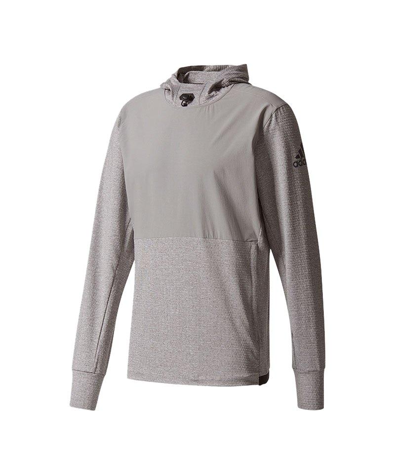 8ce1589f0cbaaf Herren Adidas Sport Oberteil Grau Kapuzensweatshirt Workout qnYprFYt