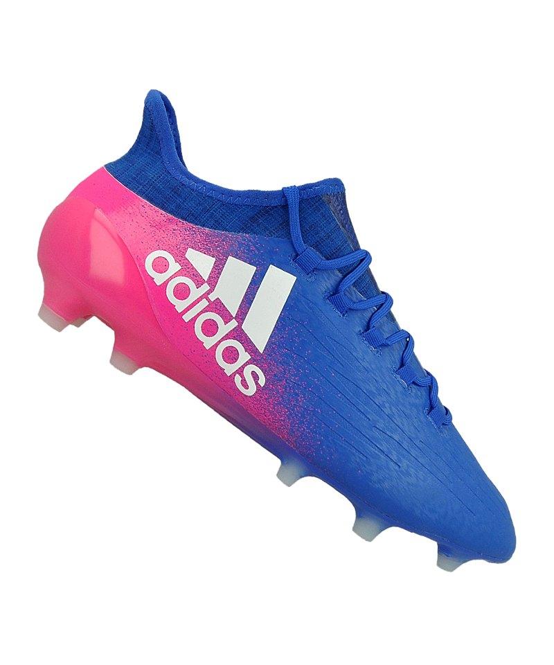 adidas X 16.1 FG Blau Weiss Pink