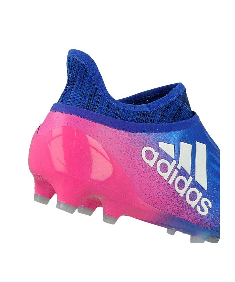 4815864d2cc5e7 ... adidas X 16+ Purechaos FG Blau Weiss Pink - blau ...