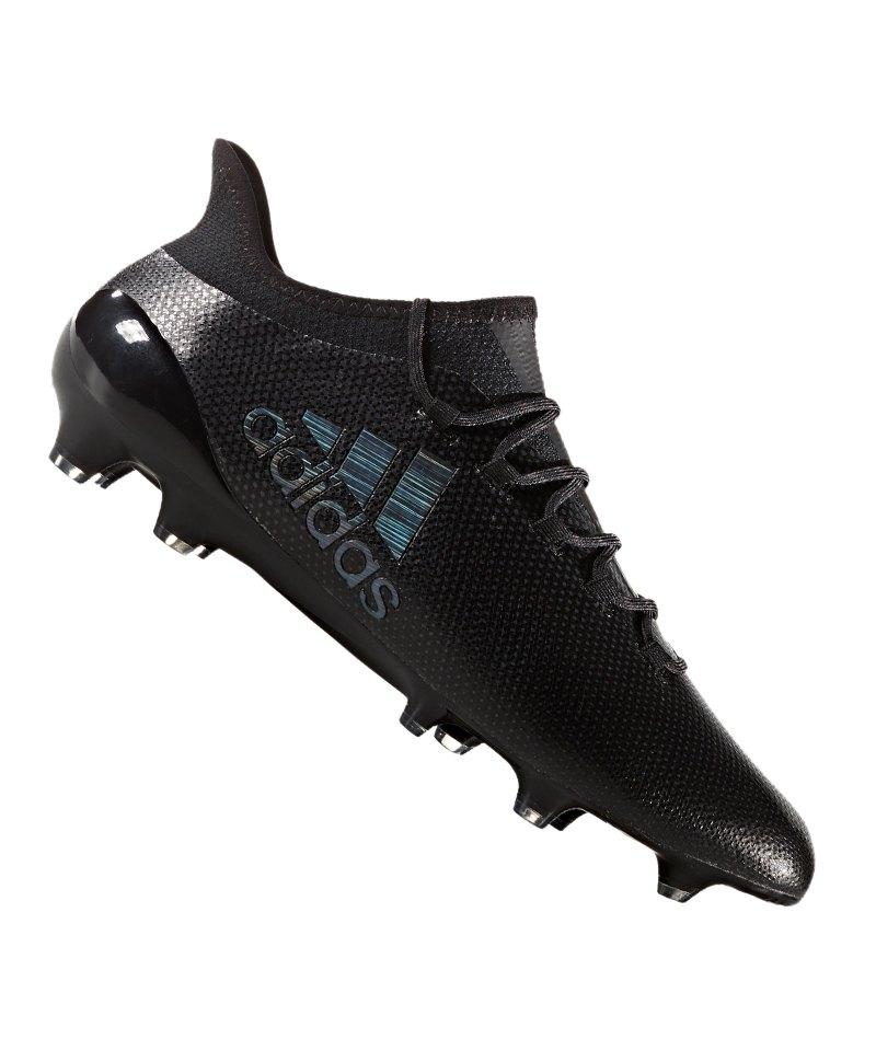 4cc526a8d73e03 adidas X 17.1 FG Schwarz - schwarz