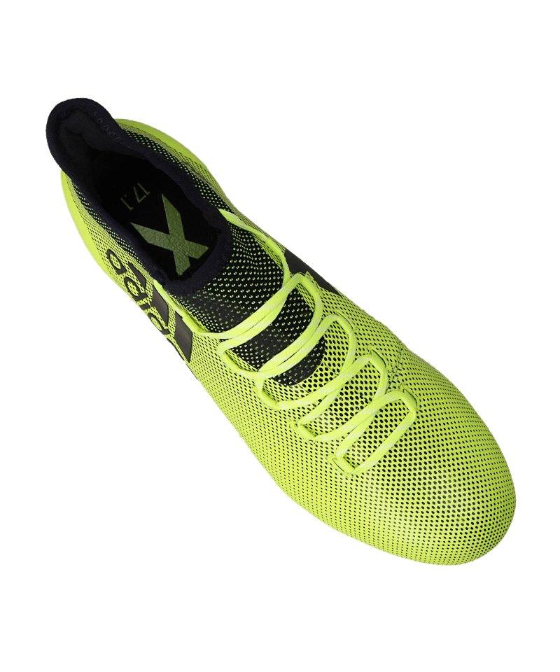 7e0bf12dfd adidas X 17.1 SG Gelb Blau | Stollen | Wettkampf | Rasen ...
