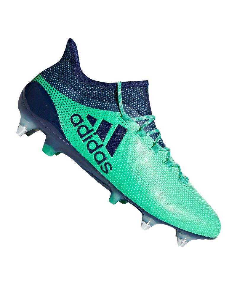 brand new fd108 e4bb4 adidas X 17.1 SG Grün Blau
