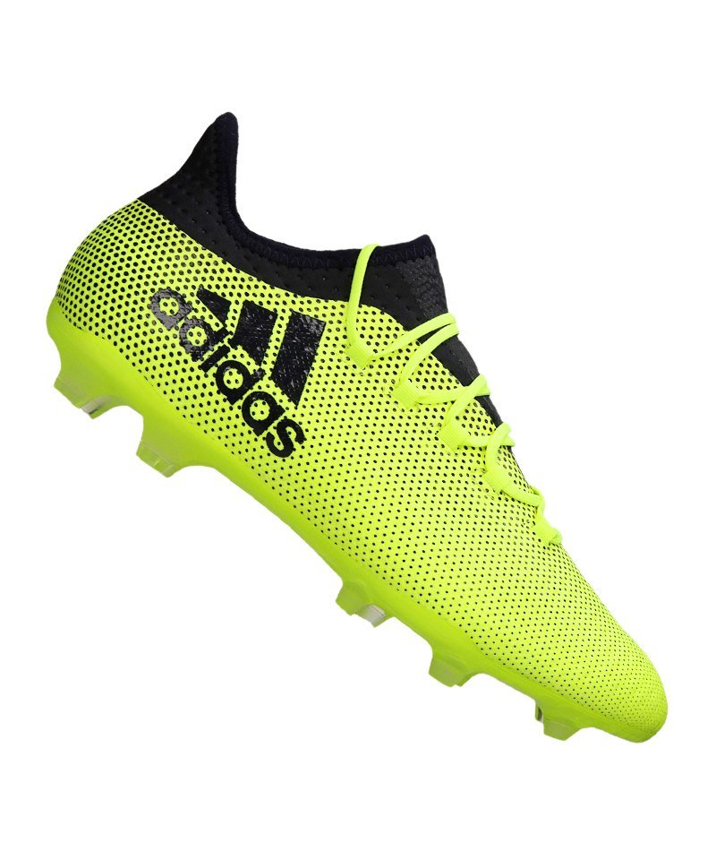 adidas X 17.2 FG Fußballschuh gelb dunkelblau