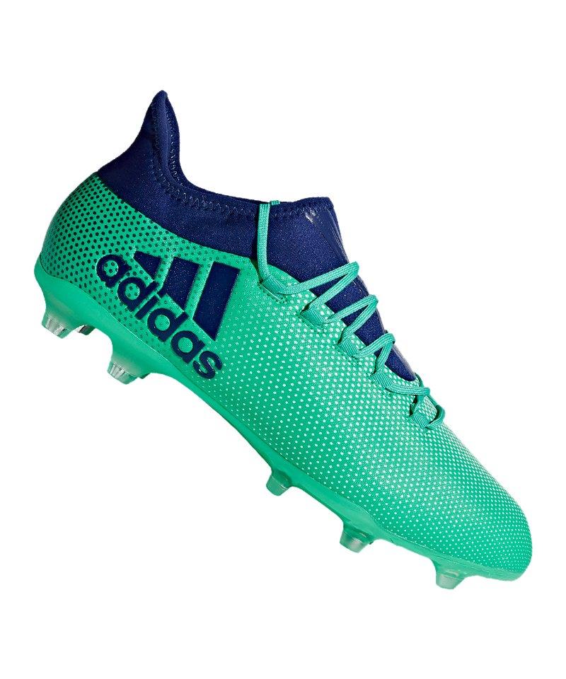 super popular aa232 c73f4 adidas X 17.2 FG Grün Blau