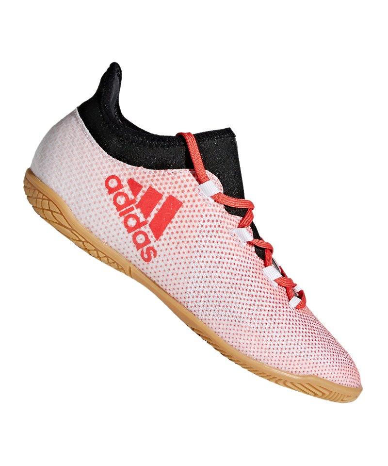 adidas hallenschuhe weiß rot