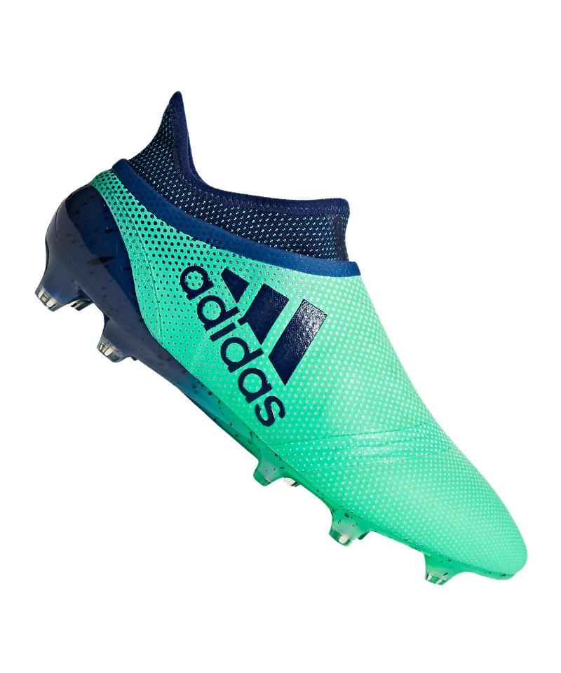 buy online 42644 71a37 adidas X 17+ Purespeed FG Grün Blau