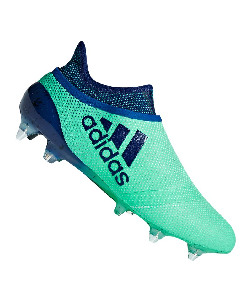 adidas X 17+ Purespeed SG Grün Blau