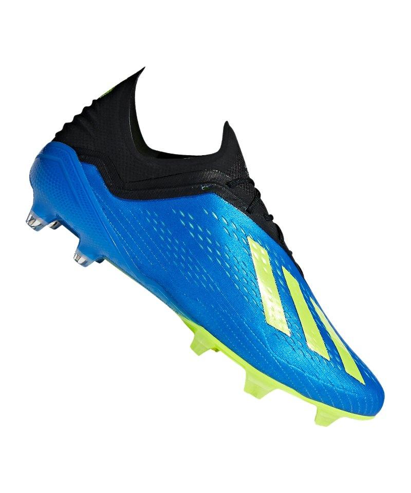 adidas X 18.1 FG Blau Gelb   Fussballschuh   Footballboots   Soccer ... 7d88f0095c