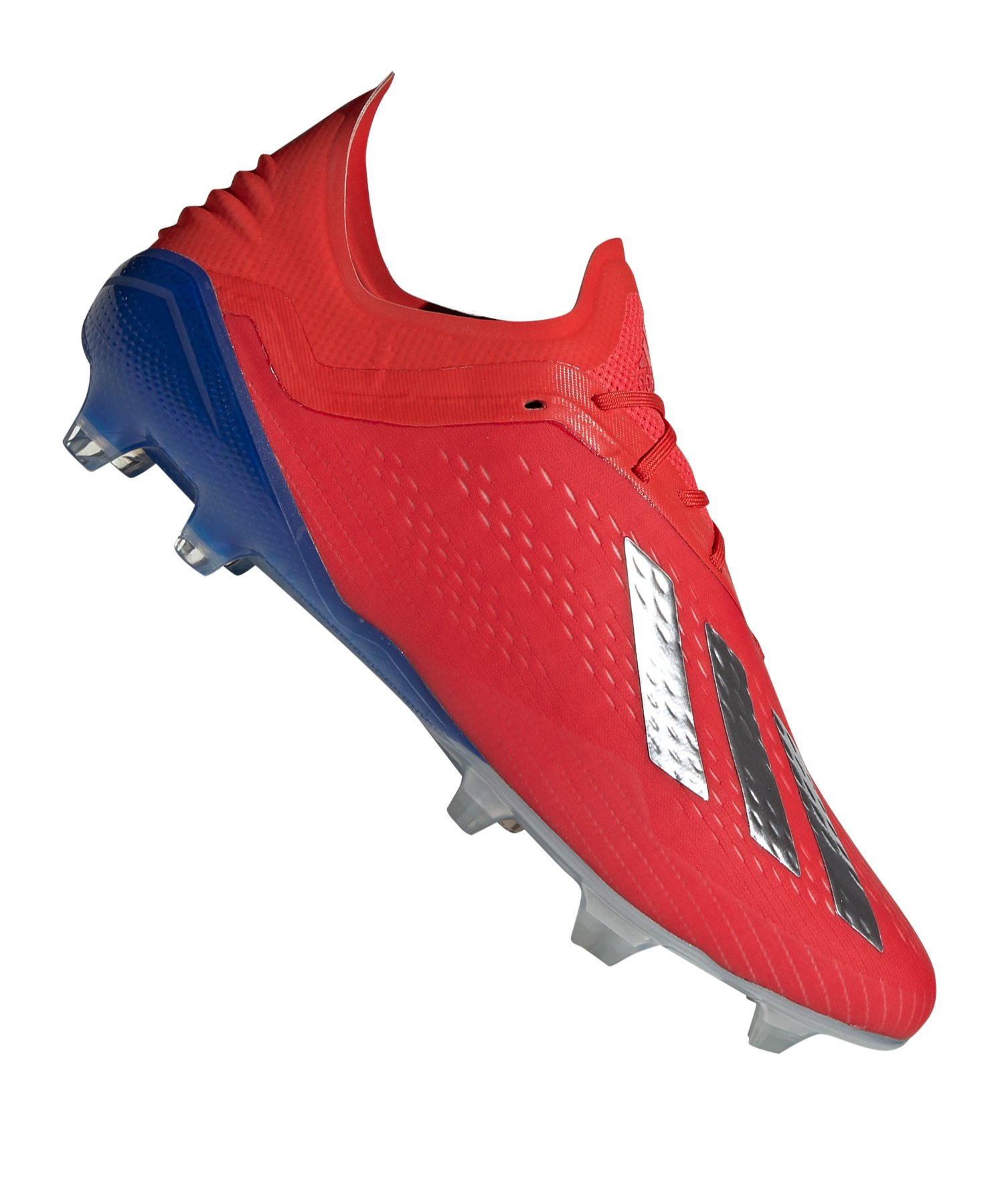 the latest 099c6 aaa72 adidas X 18.1 FG Rot Blau - rot