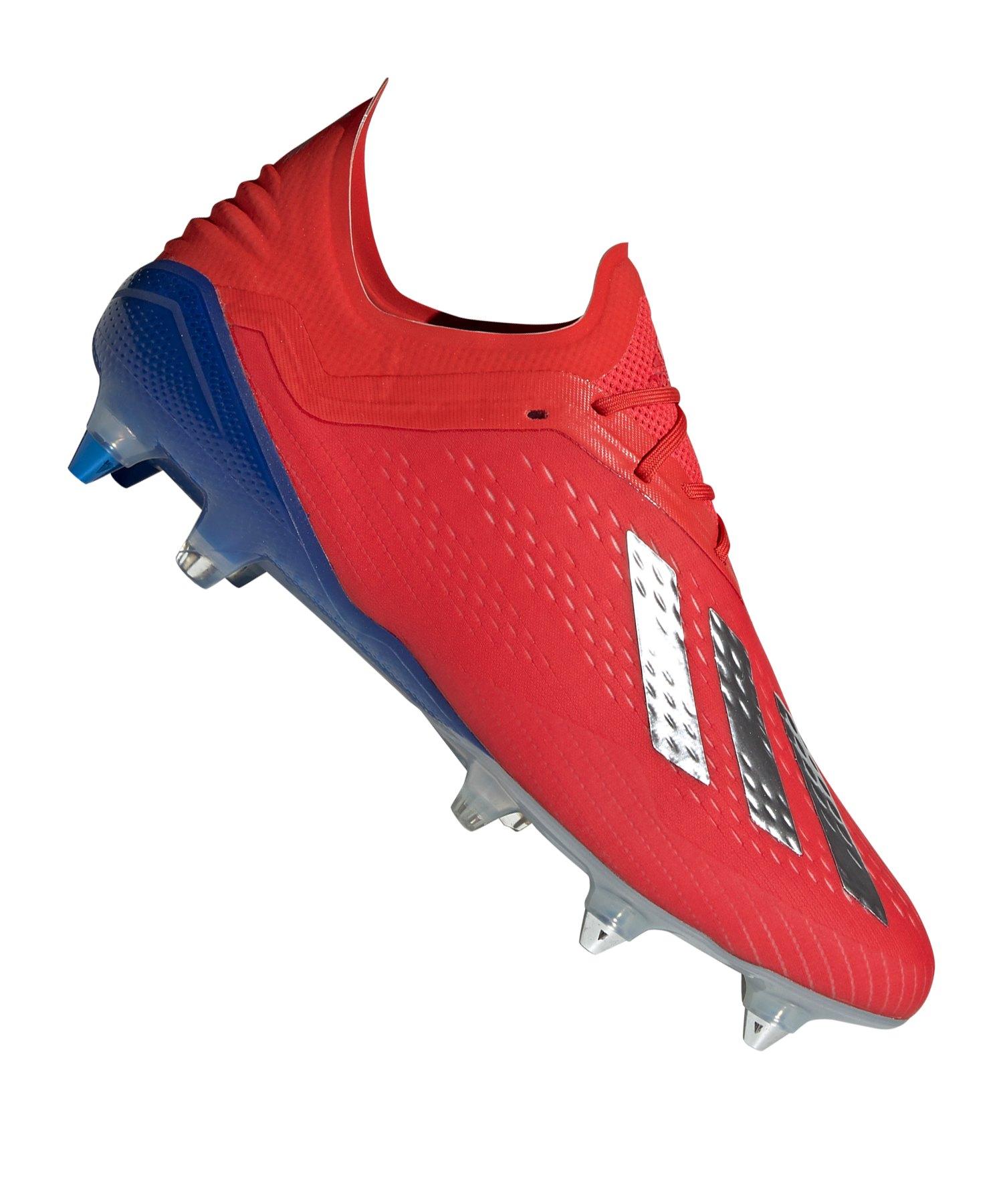 adidas X 18.1 SG Rot Blau