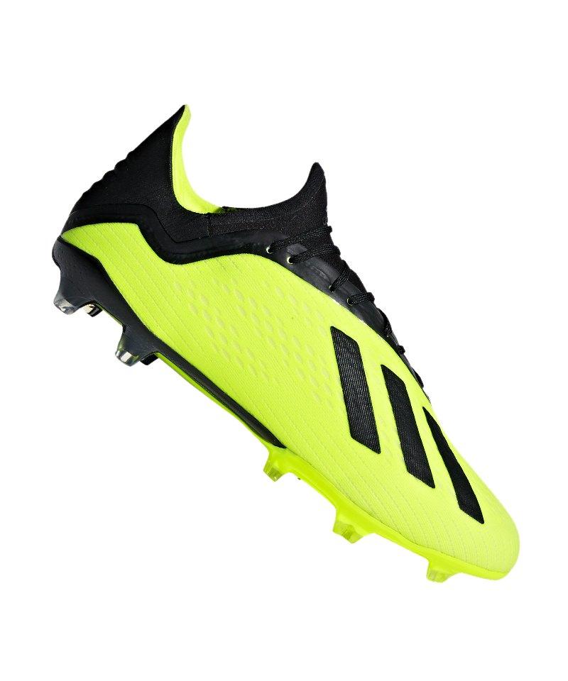 brand new 7d2f6 04183 adidas X 18.2 FG Gelb Schwarz