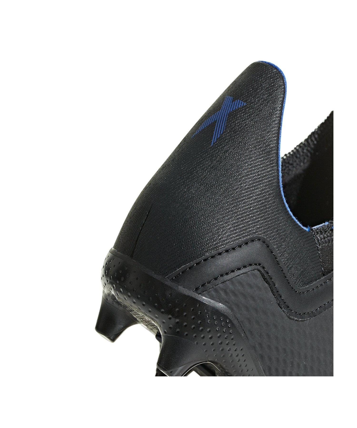 check out 804dc c1bb2 ... adidas X 18.3 FG J Kids Schwarz - schwarz ...