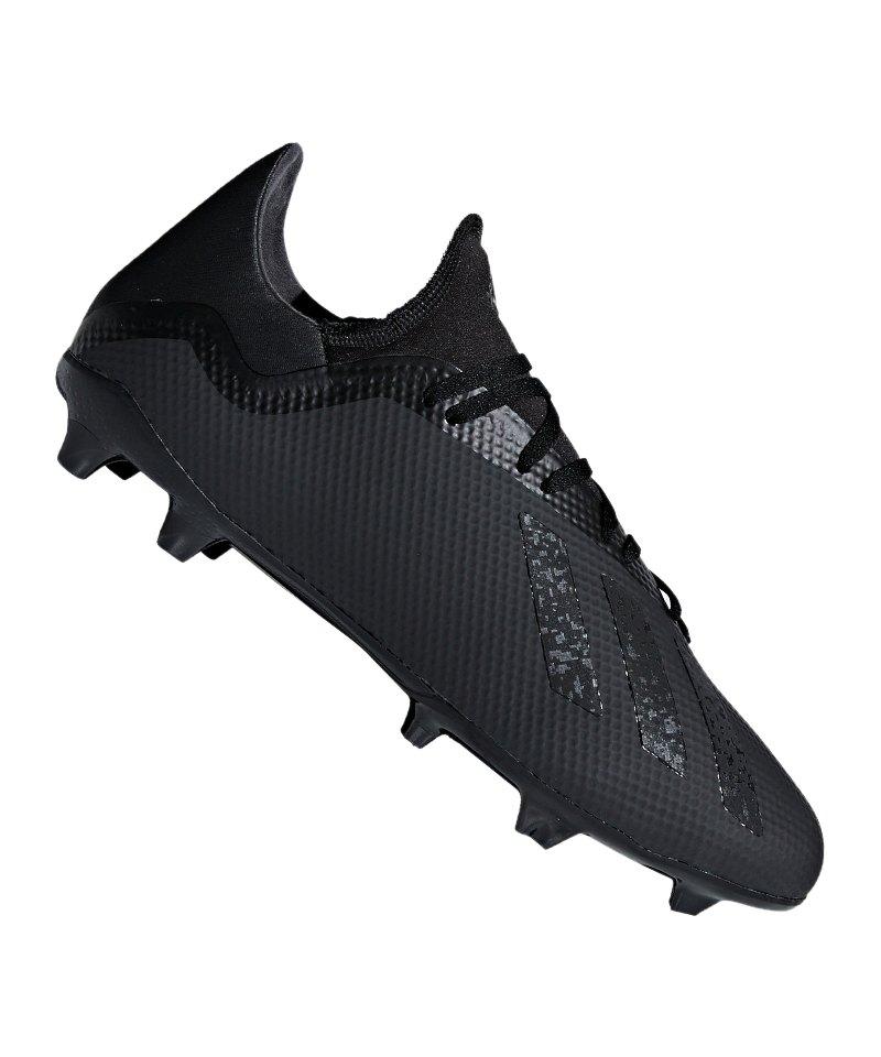 buy online 547bf d0d9b adidas X 18.3 FG Schwarz - schwarz