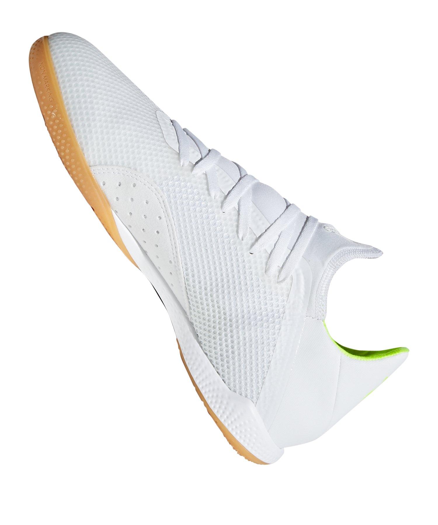 huge discount 01f35 60152 ... adidas X 18.3 IN Halle Weiss Gelb - weiss ...