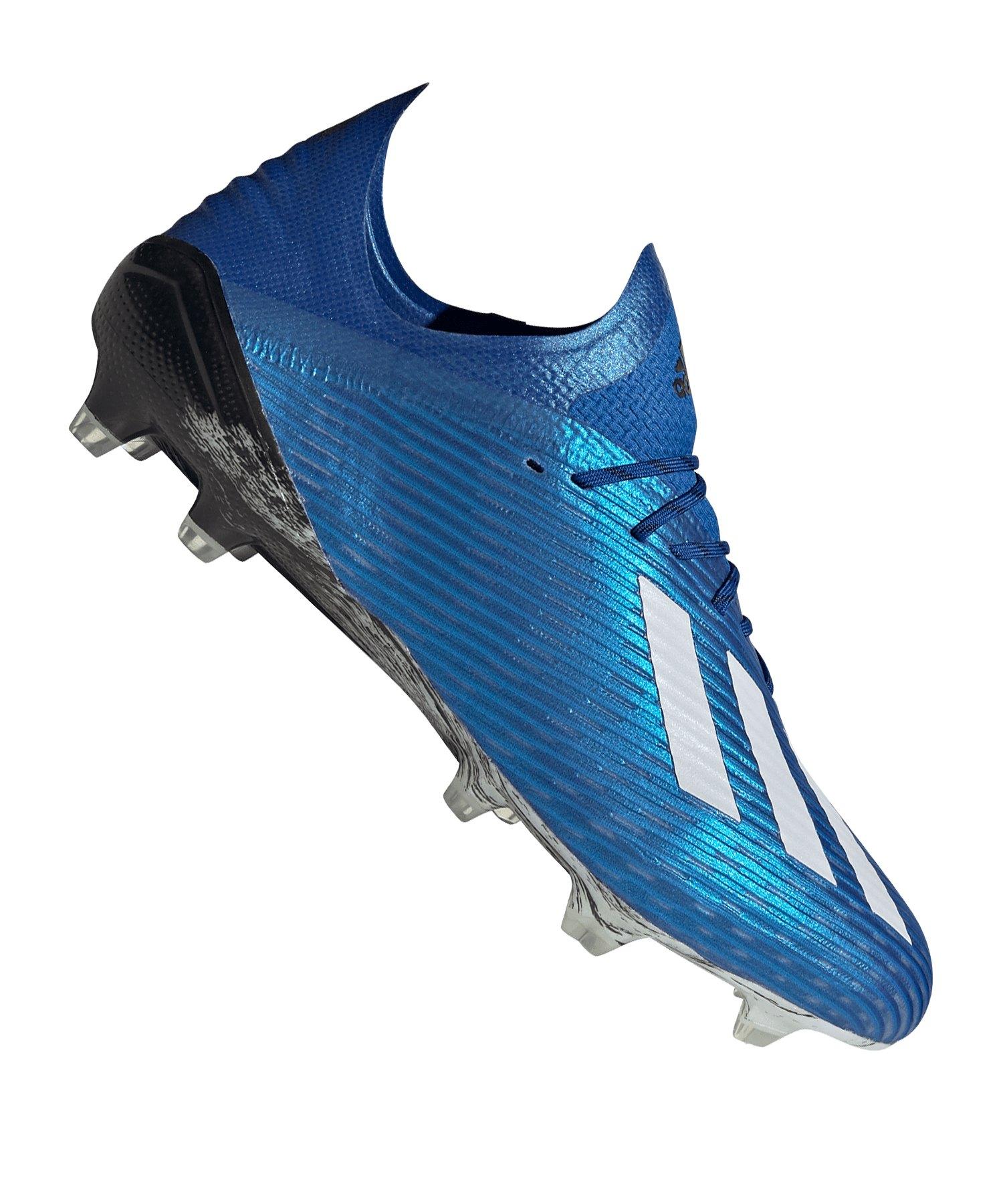 adidas X 19.1 FG Blau Schwarz