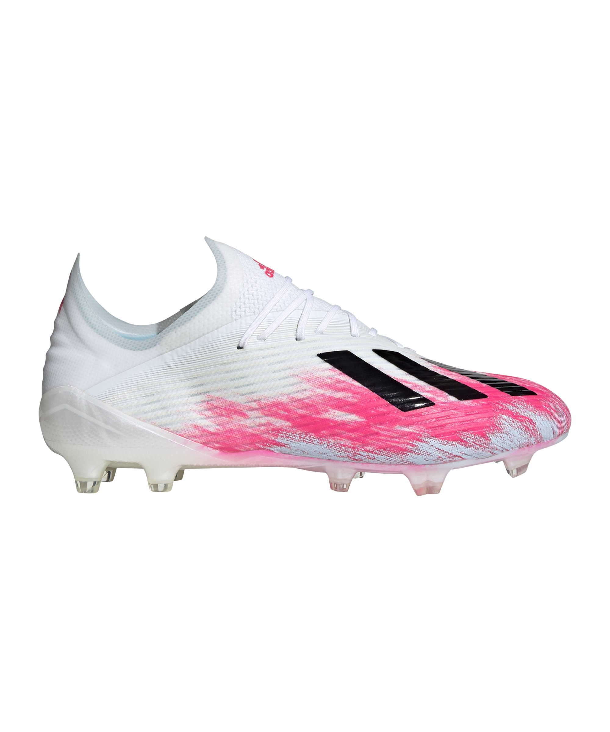 Adidas X Uniforia 19.1 FG Weiss Pink