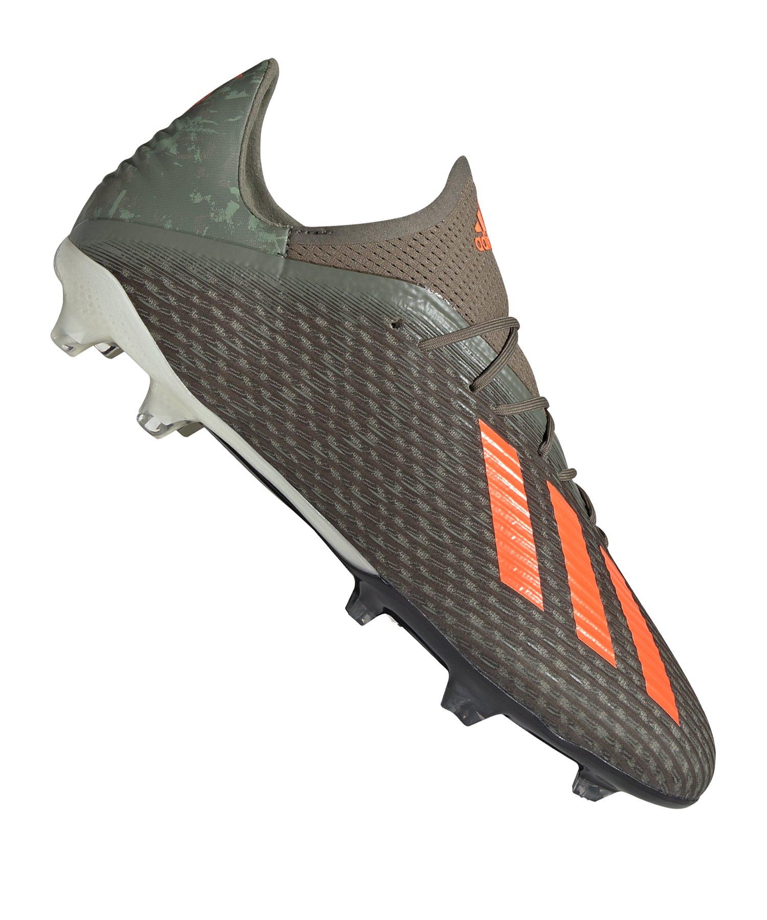 adidas Fußballschuh X 19.2 FG olivegrünorange