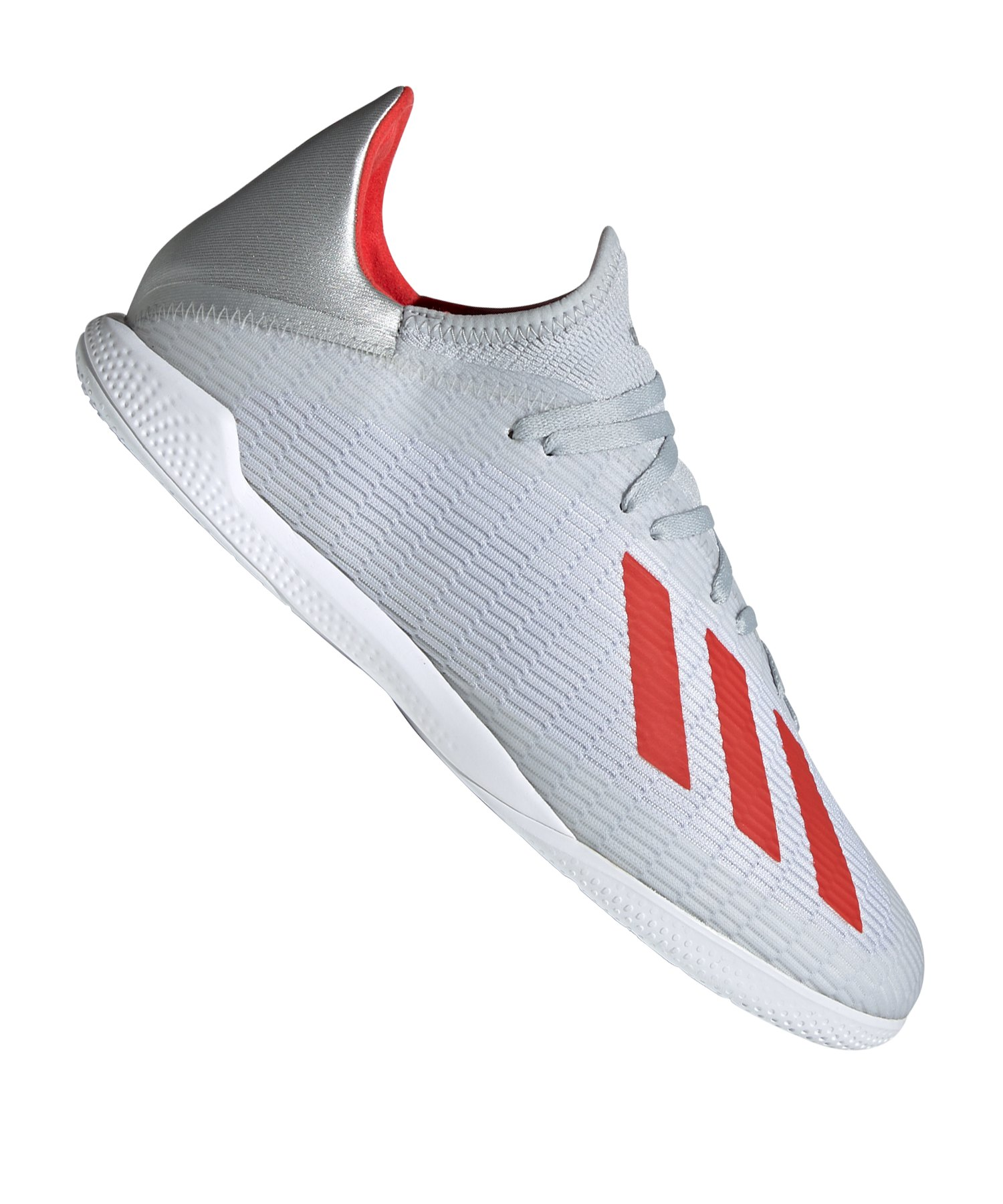 Adidas X 19 3 In Halle Silber Rot