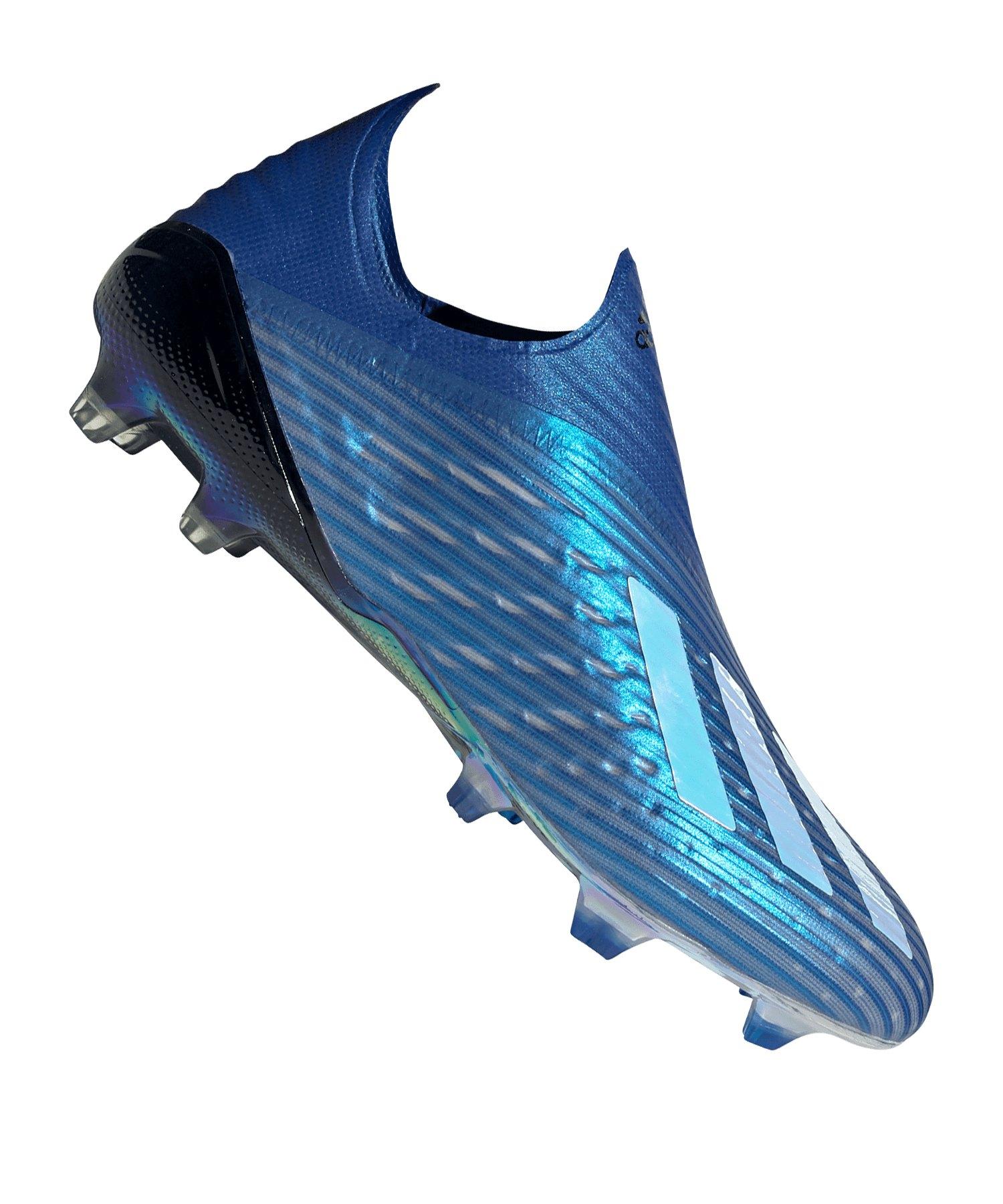 adidas X 19+ FG Blau Schwarz