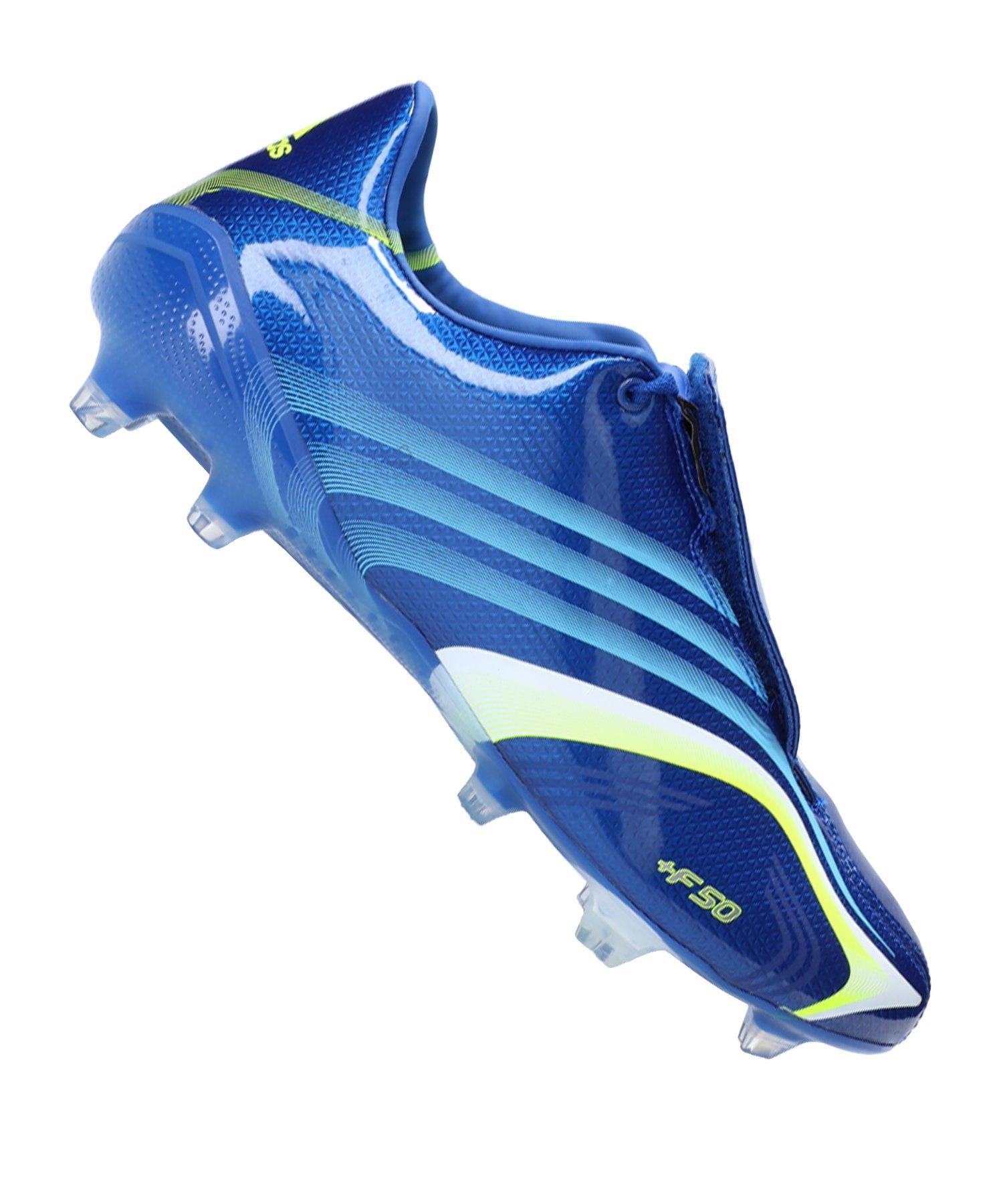 adidas X 506+ FG Blau Gelb Weiss