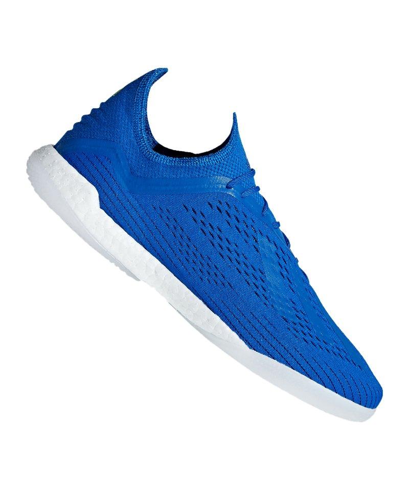 competitive price 9020c 41bd9 adidas X Tango 18.1 TR Blau Gelb