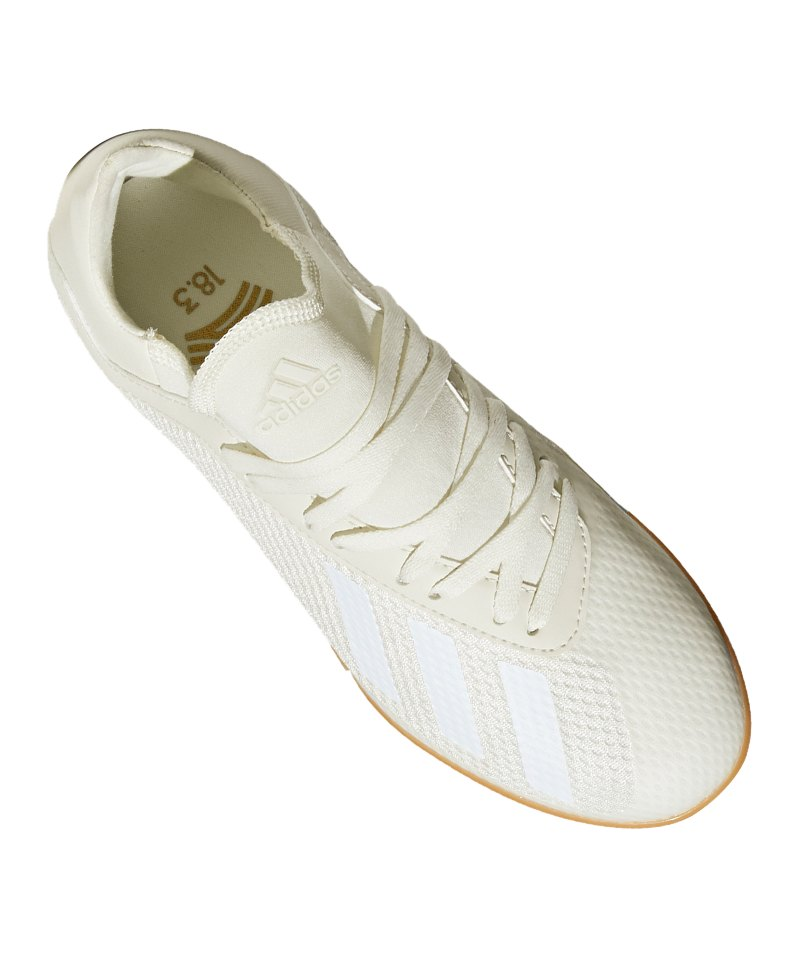 watch ddc13 0641c ... adidas X Tango 18.3 IN Halle J Kids Weiss - weiss ...