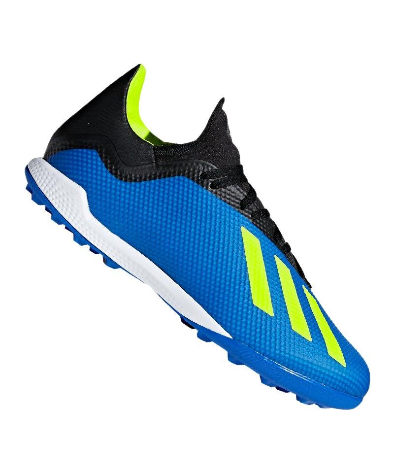 adidas X Tango 18.3 TF Blau Gelb