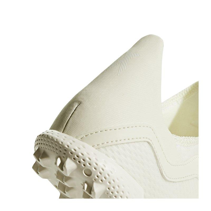 adidas X Tango 18.3 IN WeißgrauWeißSchwarz
