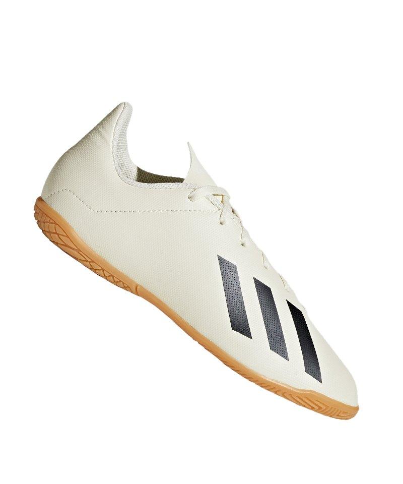 adidas Kinder Hallen Fussball Schuhe, X Tango 18.4, Gr. 37 13