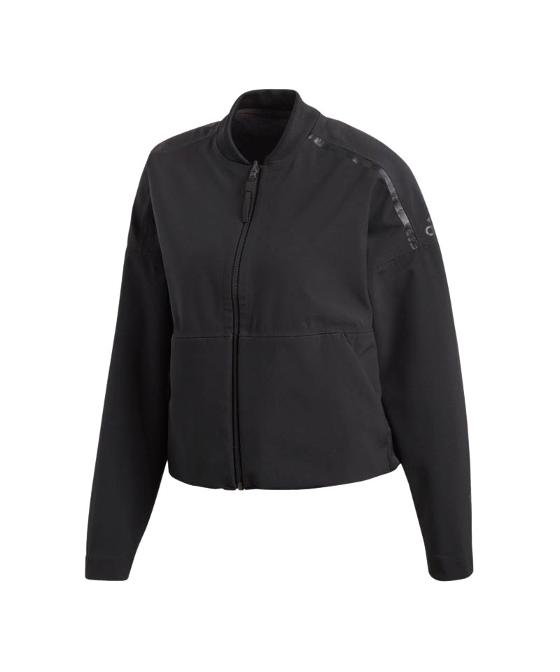 the latest 042f2 4a16a adidas Z.N.E. Reversible Jacket Damen Schwarz