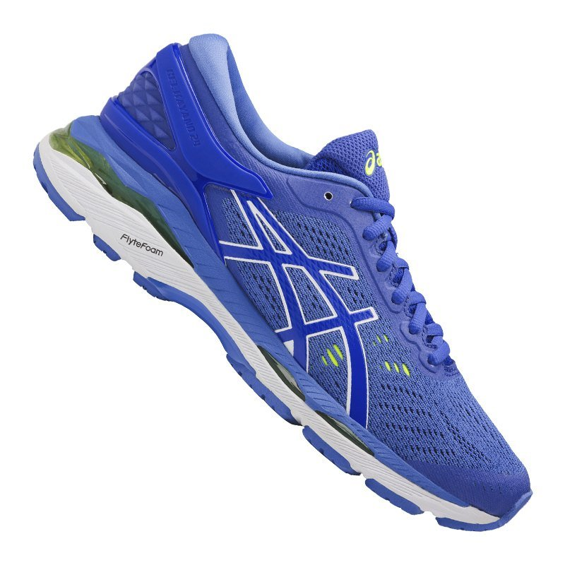 Asics Gel-Kayano 24 Running Damen Blau Weiss F4840