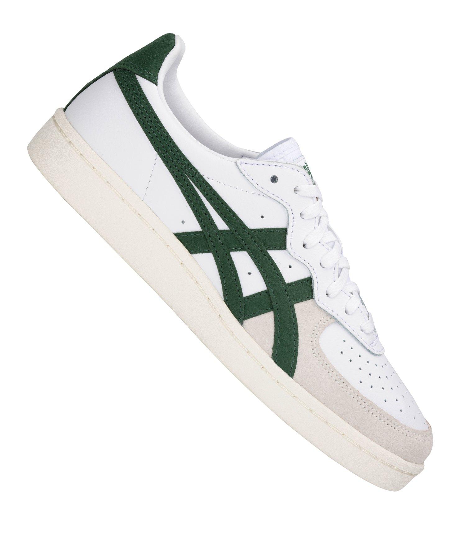 Asics Tiger GSM Sneaker Weiss Grün F101