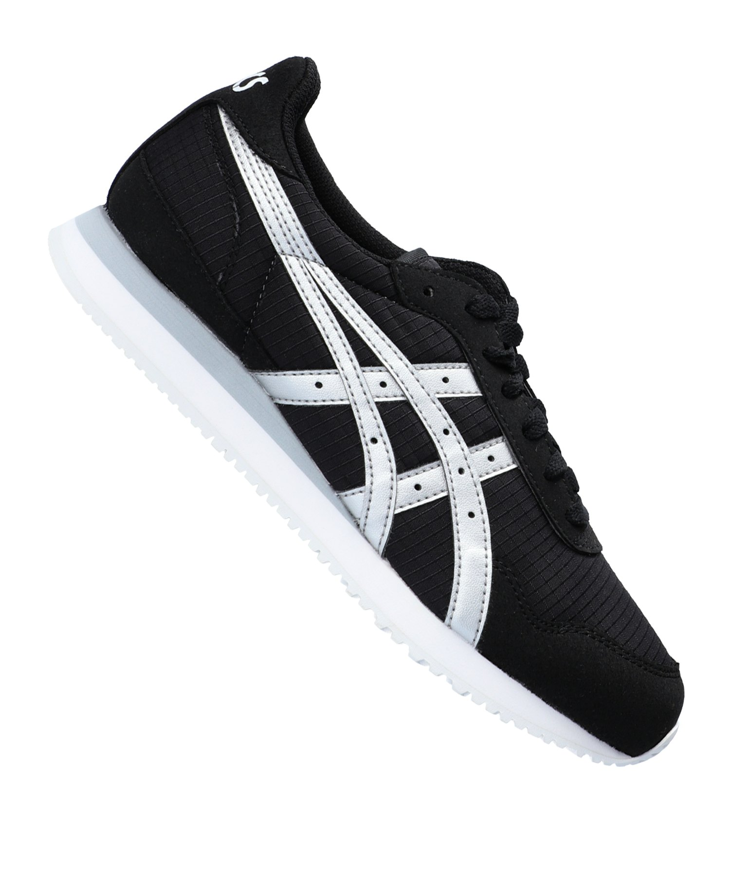 asics sneaker damen schwarz