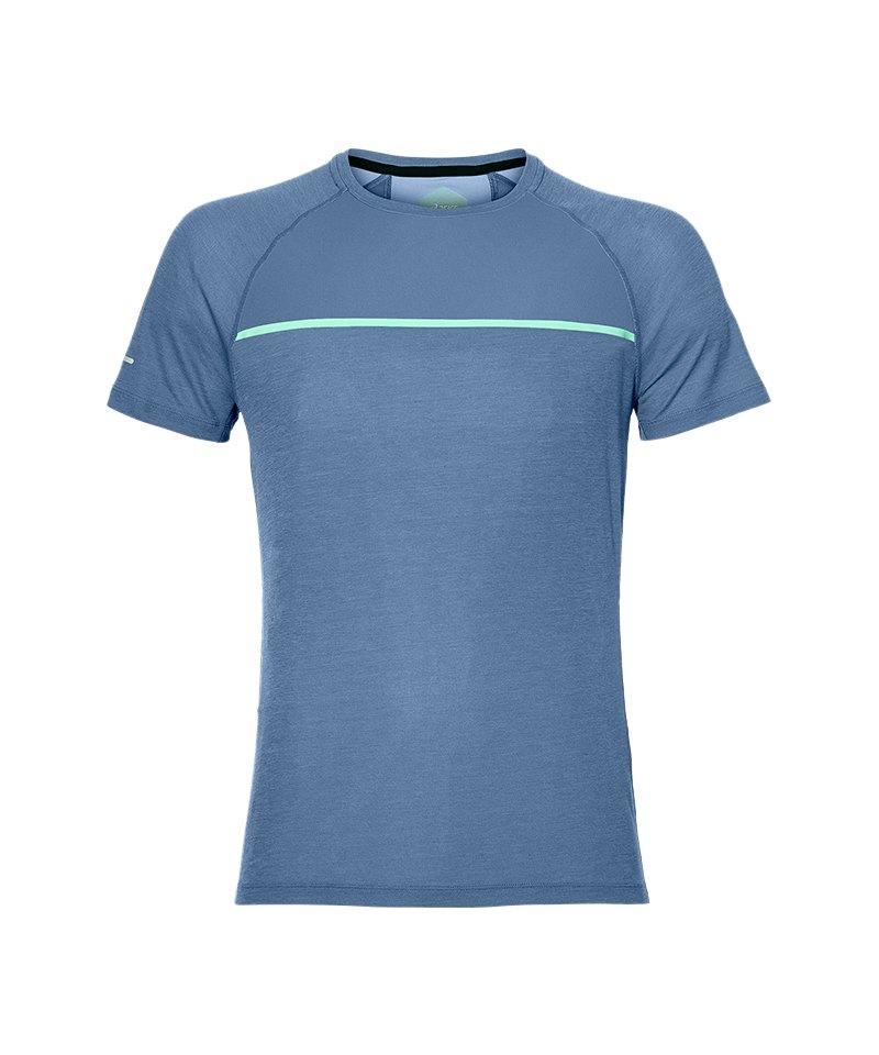 Asics Top T-Shirt Running Blau F0793