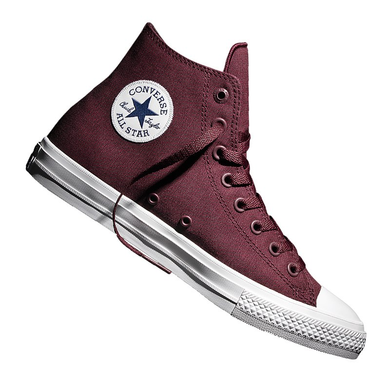 converse chuck taylor all star ii high dunkelrot. Black Bedroom Furniture Sets. Home Design Ideas