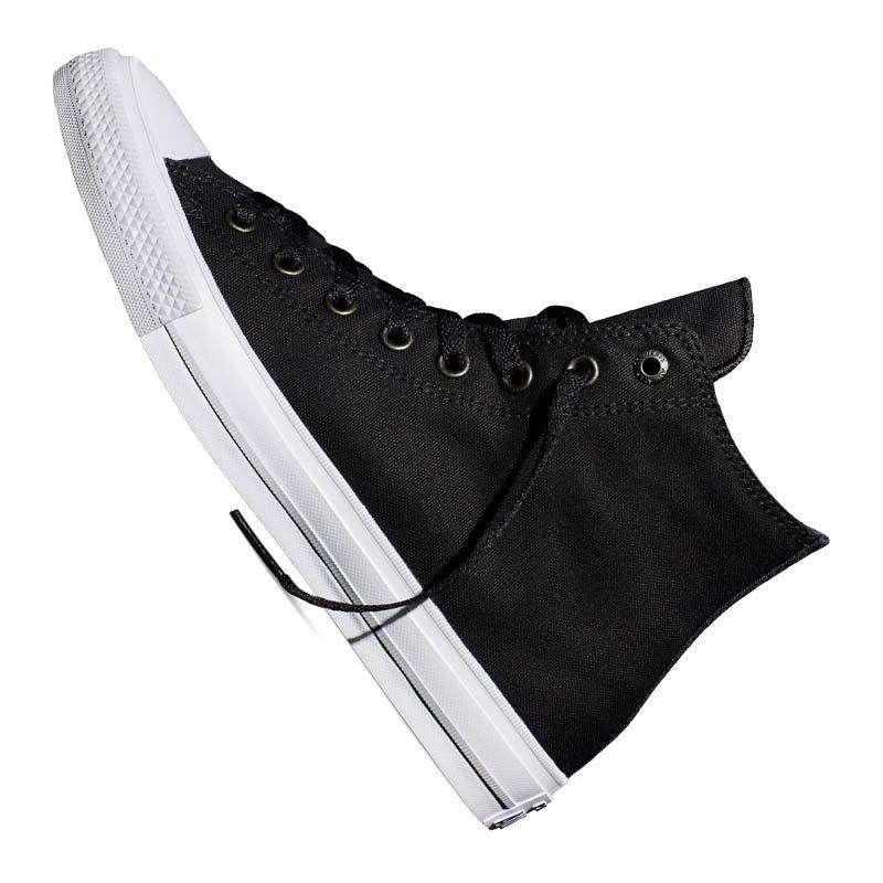 converse chuck taylor all star ii high schwarz lifestyle freizeitschuh klassiker streetwear. Black Bedroom Furniture Sets. Home Design Ideas