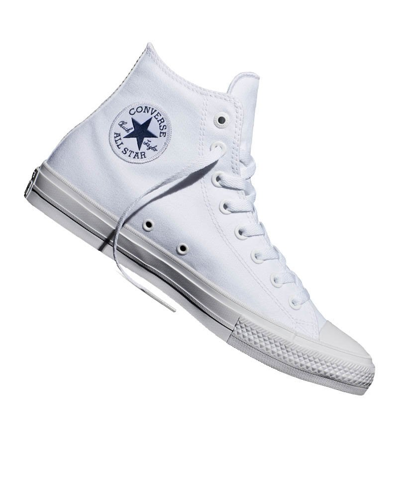 cf5b48848 Converse Chuck Taylor All Star II High Weiss - weiss