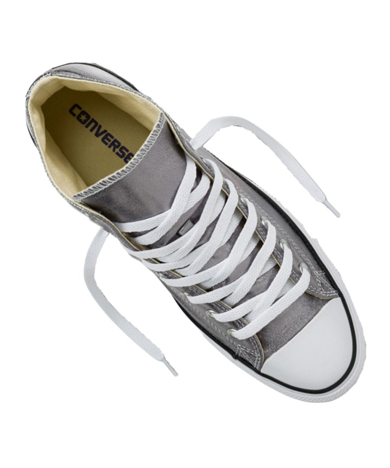 converse chuck taylor as high sneaker damen silber. Black Bedroom Furniture Sets. Home Design Ideas