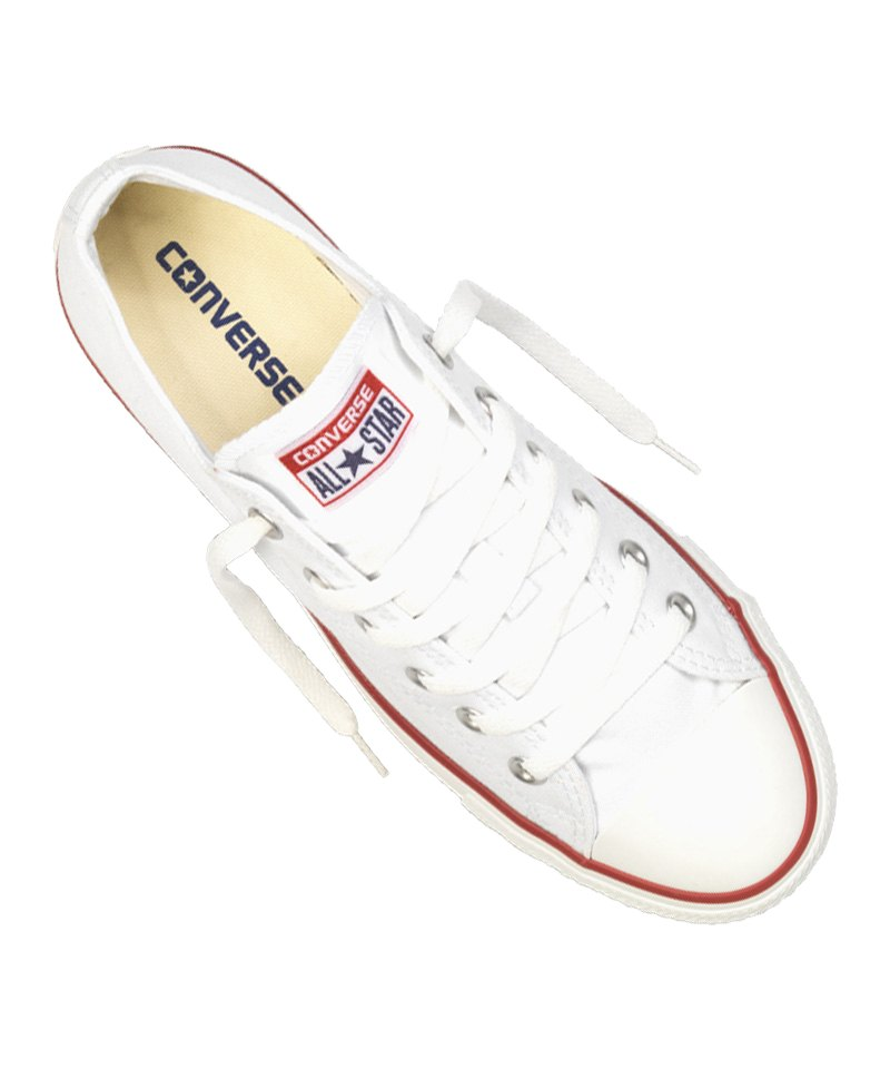 converse chuck taylor as low sneaker weiss freizeitschuh. Black Bedroom Furniture Sets. Home Design Ideas