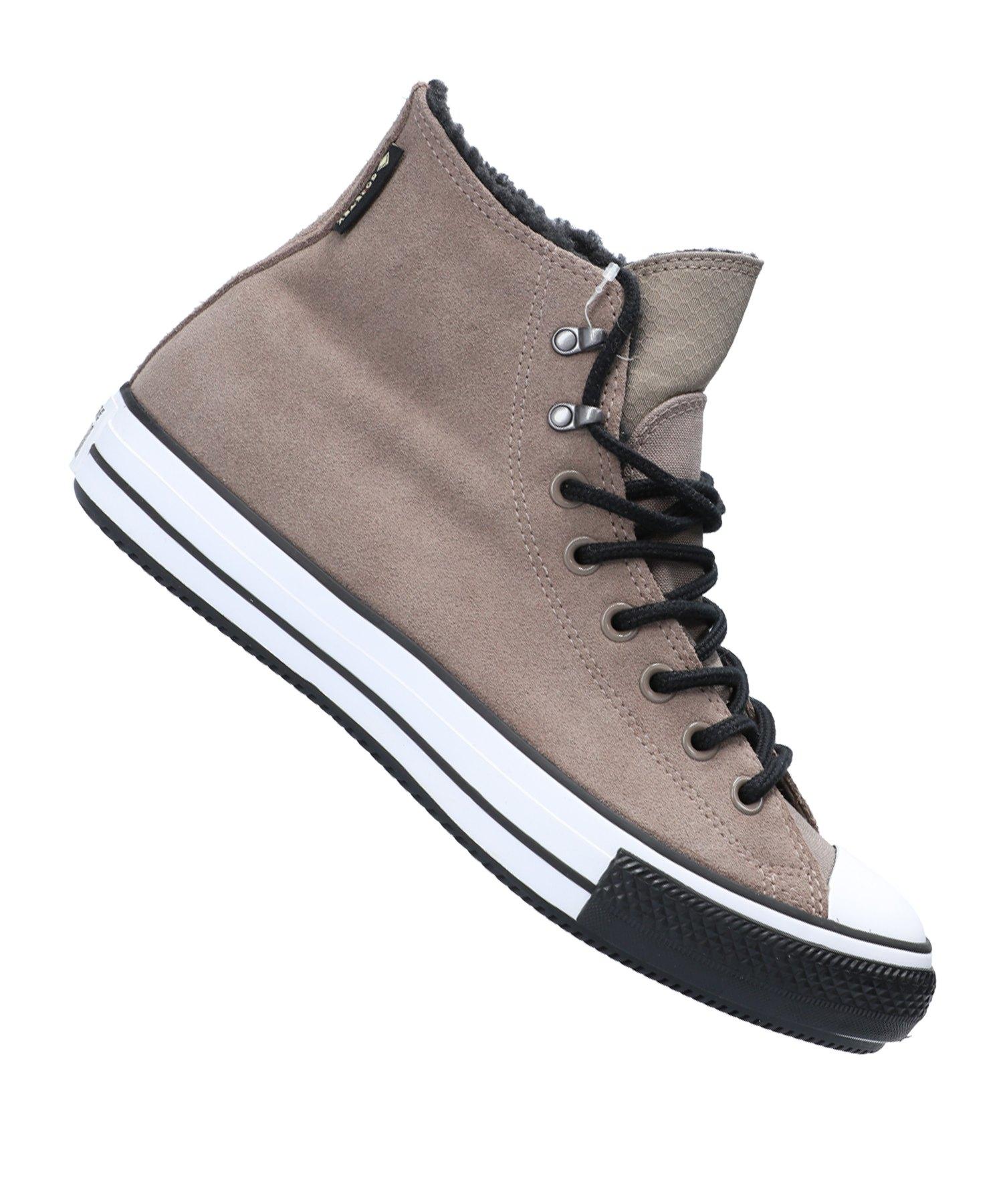 Converse Ctas Winter HI Sneaker Braun Weiss F264